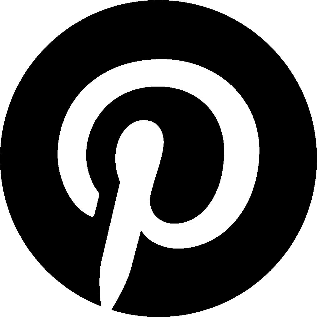 Logo Pinterest Black