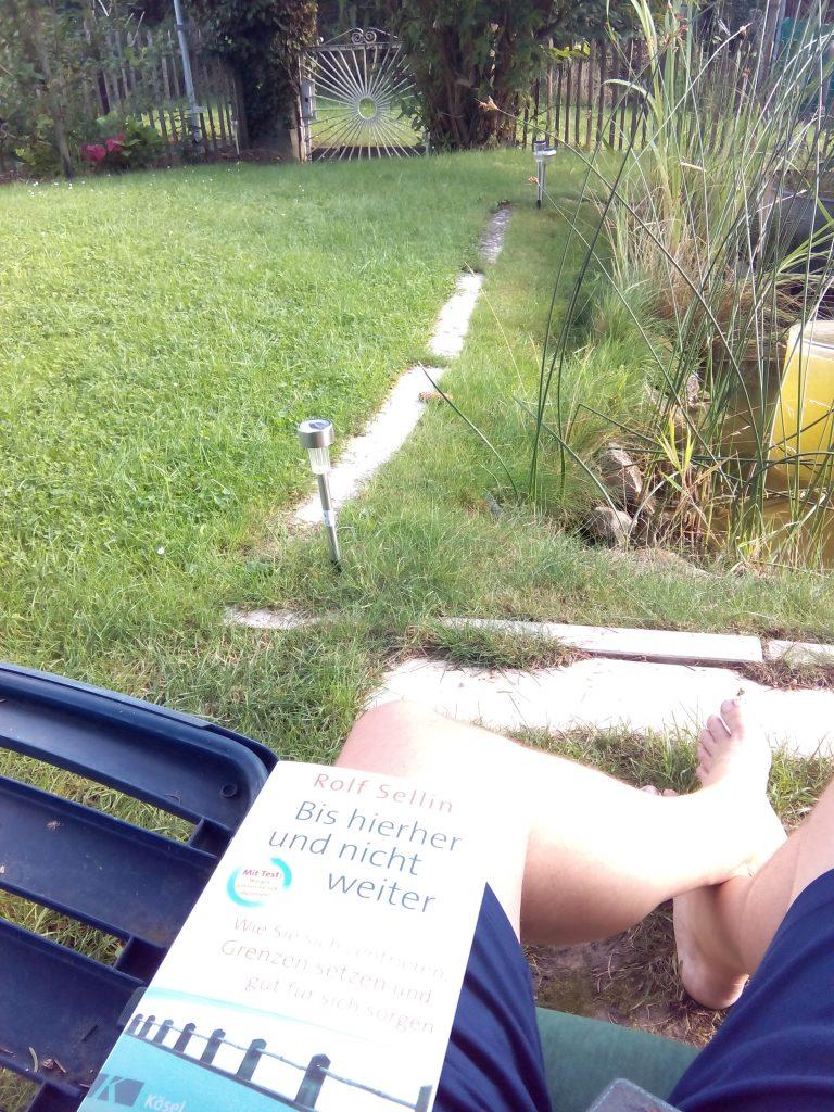 Plötzlich Hochsensibel? Grenzen Buch von Rolf Sellin als wertvolle Hilfestellung entdeckt.